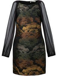 платье с прозрачными рукавами Amen