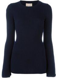 свитер в рубчик  Erika Cavallini