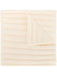 шарф ребристой вязки Moncler