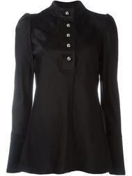 блузка с воротником-стойкой Proenza Schouler