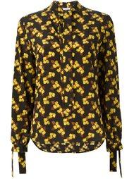 блузка с цветочным принтом P.A.R.O.S.H.