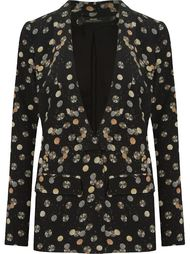 open front printed blazer Andrea Marques