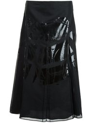 юбка с контрастными панелями Maison Margiela