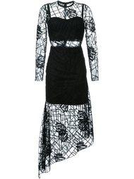 прозрачное платье 'Wild Rose' Manning Cartell