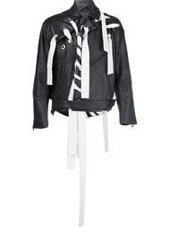 байкерская куртка с декоративной шнуровкой Craig Green