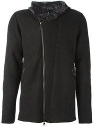 асимметричная куртка с капюшоном Giorgio Brato