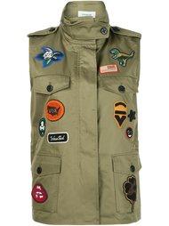 куртка без рукавов в стиле милитари Coach