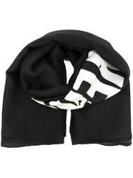 шарф с принтом логотипа  Givenchy