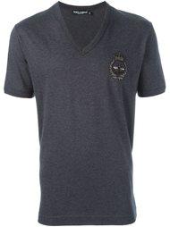футболка c V-образным вырезом  Dolce & Gabbana