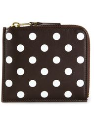 'Polka Dots Printed' zip-around wallet Comme Des Garçons Wallet