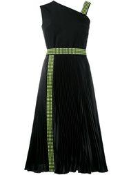 studded one shoulder dress Christopher Kane