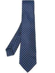 галстук с узором в горох Kiton