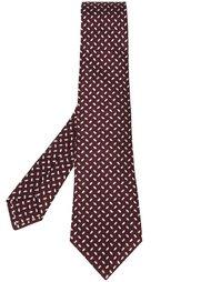 шалстук с принтом овалов Kiton