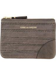 кошелек для монет 'Embossed Stitch' Comme Des Garçons Wallet