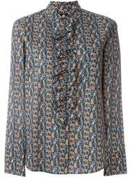 блузка с оборками Ps By Paul Smith