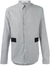 рубашка с контрастными панелями Givenchy