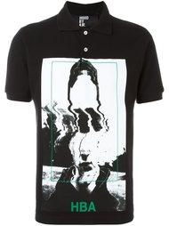 футболка-поло с фото-принтом  Hood By Air