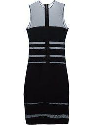 платье с прозрачными вставками Alexandre Vauthier