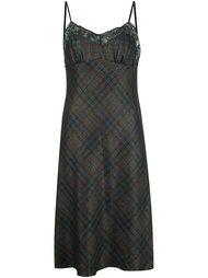 платье с кружевной отделкой Maison Margiela