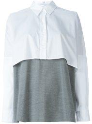 многослойная рубашка Mm6 Maison Margiela