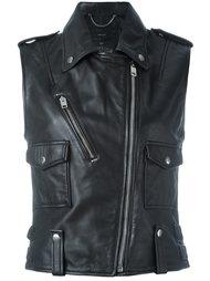 байкерская куртка без рукавов Diesel