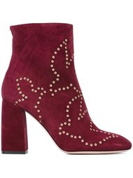 ботинки с люверсами  Red Valentino