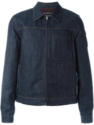 джинсовая куртка свободного кроя Alexander McQueen