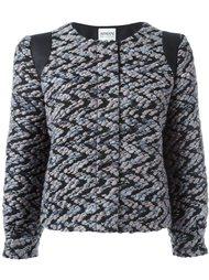 куртка с жаккардовым узором Armani Collezioni