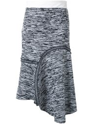 меланжевая юбка  Bassike