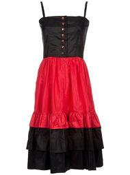 платье на бретельках  Lanvin Vintage