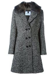 пальто в елочку  Blumarine