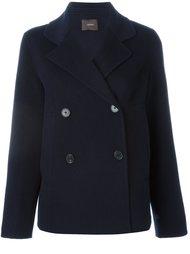 двубортное пальто  Odeeh