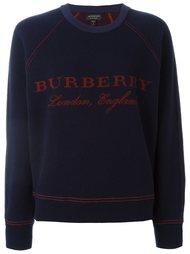 толстовка с логотипом  Burberry