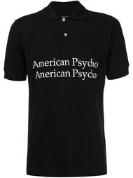 футболка-поло с принтом American Psycho  Hood By Air