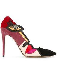 декорированные туфли  Etro