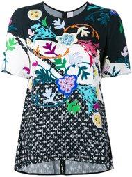 футболка с цветочным принтом  Peter Pilotto