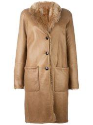 пальто с панельным дизайном Joseph
