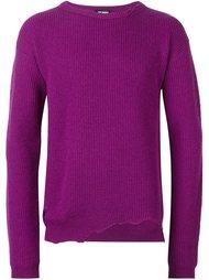 свитер с бахромой Raf Simons