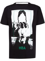 футболка с принтом  Hood By Air