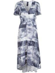 платье с запахом Zero + Maria Cornejo