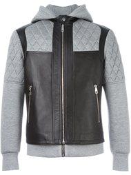 куртка с панельным дизайном и капюшоном Neil Barrett