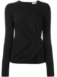 блузка с запахом Lanvin