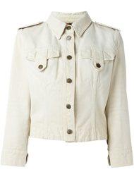 джинсовая куртка в стиле милитари Dolce & Gabbana Vintage