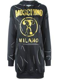 платье-толстовка  Moschino