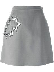 юбка с карманом  Christopher Kane