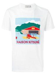 футболка 'Hangar' Maison Kitsuné