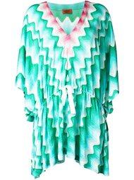платье зигзагообразной вязки   Missoni