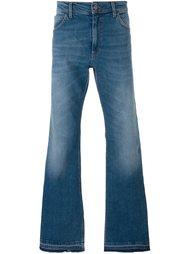 джинсы с необработанными краями   Roberto Cavalli