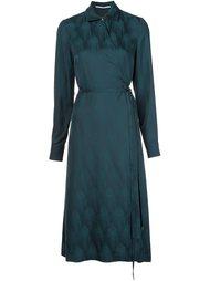 платье-рубашка с запахом Rosetta Getty