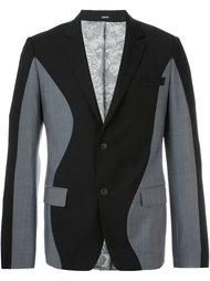 пиджак с волнистыми панелями Kenzo